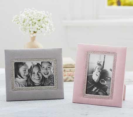 Suede Keepsake Frames - Pink - Pottery Barn Kids