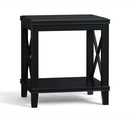 CASSIE SIDE TABLE - BLACK - Pottery Barn