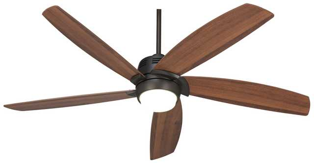 "56"" Casa Ecantoâ""¢ Oil-Rubbed Bronze LED Ceiling Fan - Lamps Plus"