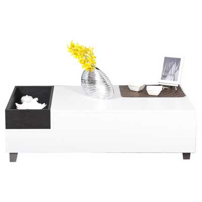 Jordan Coffee Table in White - Wayfair