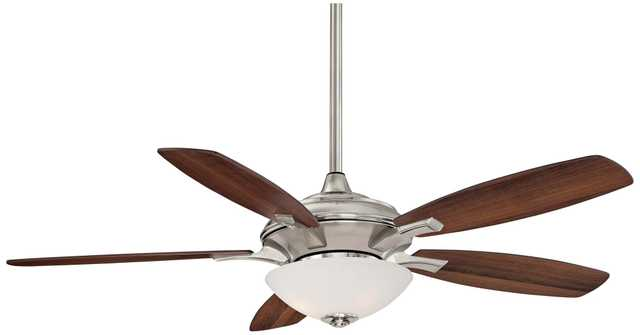 "52"" Minka Aire Hilo Brushed Nickel Ceiling Fan - Lamps Plus"