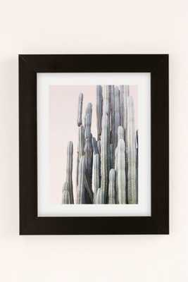 "Wilder California Summer Cactus Art Print - 13"" x 19"" - Framed - Urban Outfitters"