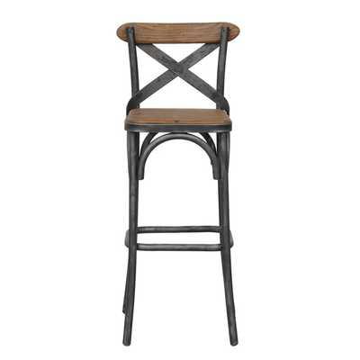 Kosas Home Dixon Rustic Bar Stool - Overstock