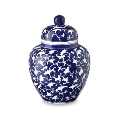 Petite Temple Jar, Vine Motif - Williams Sonoma