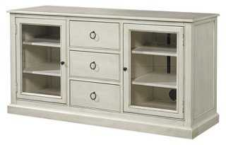 Summer Hill Entertainment Console, White - One Kings Lane