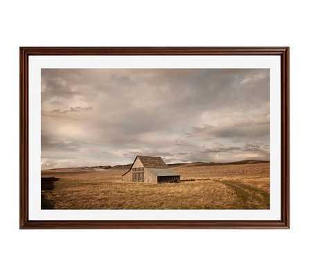 Barn - 42x28, Framed - Pottery Barn
