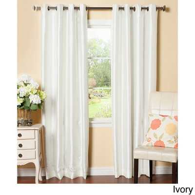 Aurora Home Grommet-Top Blackout Curtain Panel Pair - Overstock