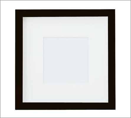 "Wood Gallery Single Opening Frame -5 x 5"" Opening, 10 x 10"" Overall - Pottery Barn"