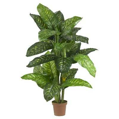 Nearly Natural Dieffenbachia Silk Plant - Target