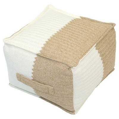 Outdoor Woven Pouf - Target