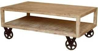 Lisette Coffee Table, Washed Brown - One Kings Lane