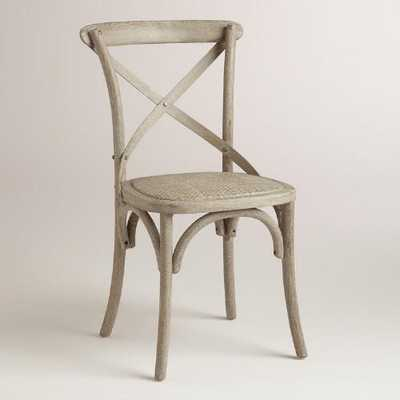 Wood and Rattan Syena Dining Chairs - World Market/Cost Plus