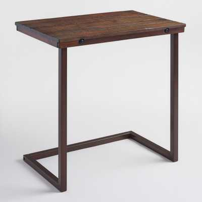 Oversized Wood and Metal Laptop Table - World Market/Cost Plus