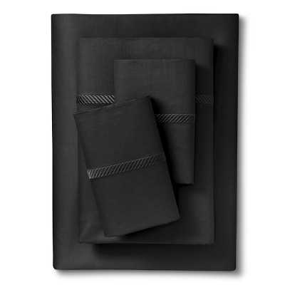 Elite Home Wrinkle Resistant Embroidery Sheet Set - Target