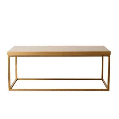 Coffee Table - Gold - AllModern