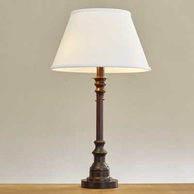 "Watson 31"" H Table Lamp with Empire Shade - Wayfair"