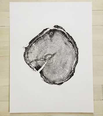 Old Growth Pine. Original Print - 18x24 - Unframed - Etsy