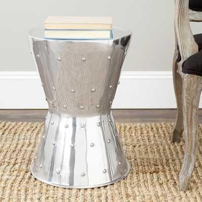 Safavieh Rivet Aluminum Stool - Overstock