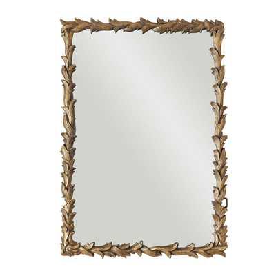 Laurel Leaf Mirror - Wisteria
