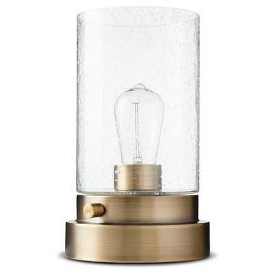 "Hudson Industrial Uplight - Brass - Thresholdâ""¢ - Target"