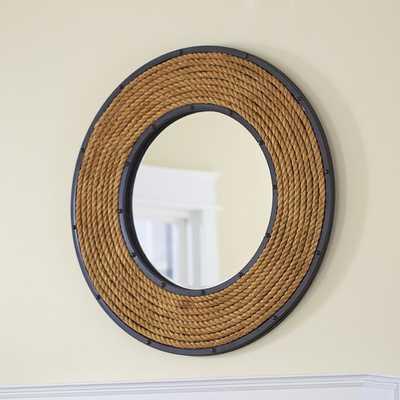 Round Rope Mirror - Birch Lane