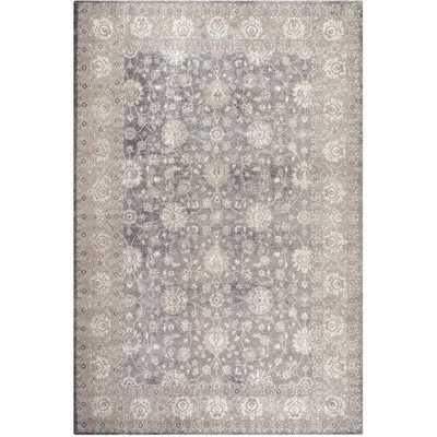 Safavieh Sofia Shag Light Grey/ Beige Rug (9' x 12') - Overstock