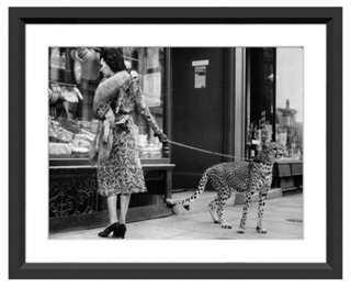 Cheetah Who Shops in London - One Kings Lane
