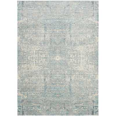 Safavieh Mystique Teal/Multi Polyester Rug (8' x 10') - Overstock
