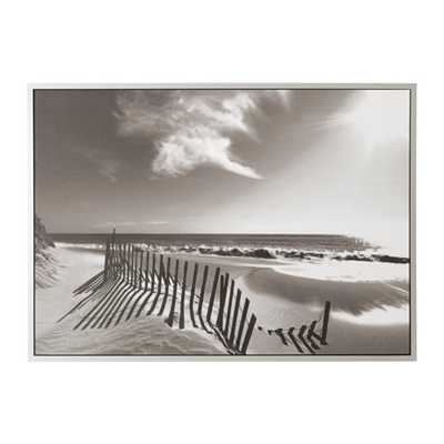 """VILSHULT Picture, bronze beach- 55x39 ¼ """" without mat - Ikea"""