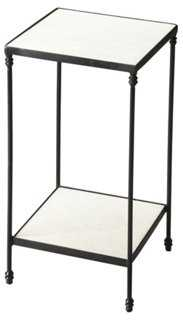 Francesca Mirrored Side Table - One Kings Lane
