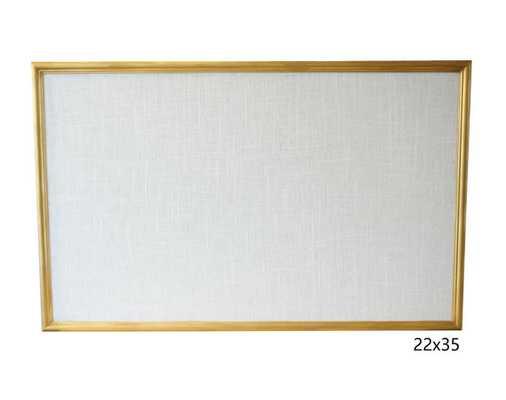 Cork Board Framed 22x35 Bulletin Board Pinboard - Etsy