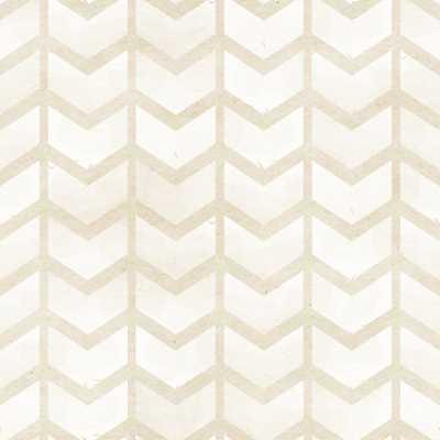 """Golden Arrows Removable 8' x 20"""" Herringbone Panel Wallpaper - Wayfair"""