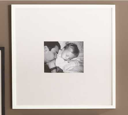 """Wood Gallery Oversized Picture Frame- 25"""" x 25"""" - Pottery Barn"""