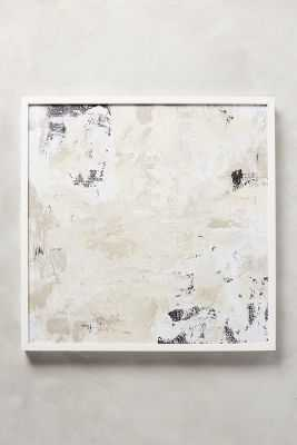 Seasmoke Wall Art, No.2 - 25'' sq - Framed (White) - Anthropologie