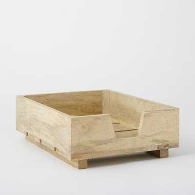 Crated Office Collection - Paper Tray - West Elm