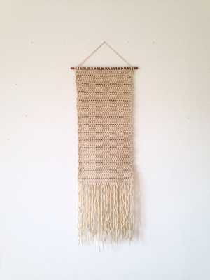 Crocheted wall hanging - Etsy