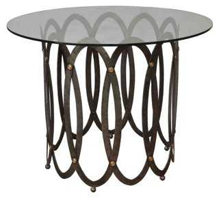 Hoops Round Occasional Table - One Kings Lane