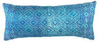 Silk Tribal Pillow - One Kings Lane