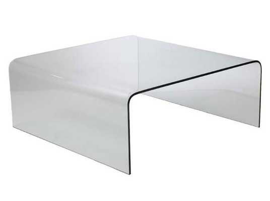 Sally Glass Coffee Table CLEAR - Apt2B