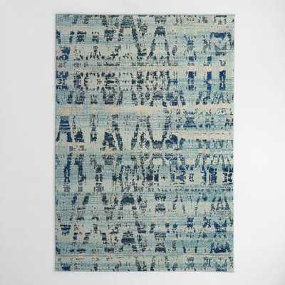 High Tide Blue Area Rug - World Market/Cost Plus