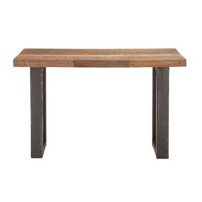 Simply Natural Wood Metal Console Table - AllModern