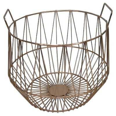 """Thresholdâ""""¢ Metal Basket Large - Target"""