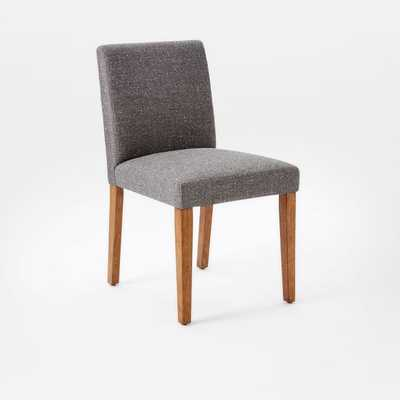 Porter Side Chair Set Of 4, Tweed, Salt And Pepper - West Elm