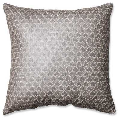 Diego Throw Pillow - Grey, 16.5 Sq, With Insert - Target