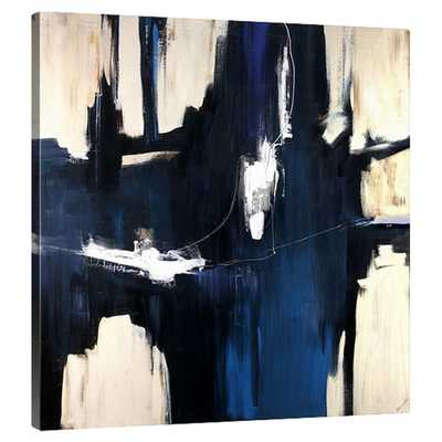 Caves by Sydney Edmunds Painting Print on Gallery Wrapped Canvas - AllModern