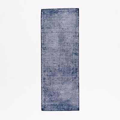 Blurred Lines Wool Rug - 2.5'x7' - West Elm