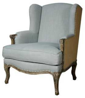 Marie Wingback Chair - One Kings Lane