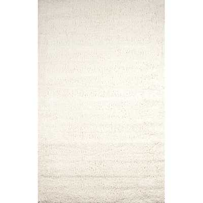 Cozy Cream Shag Area Rug - AllModern