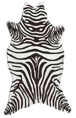 The Rug Market Resort Zebra Rug - 5' x 8' - Rugs USA
