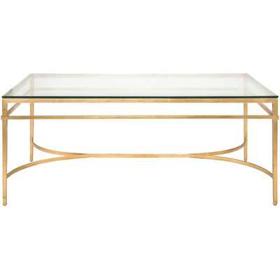Abelard Coffee Table - Antique Gold Gilt - Wayfair